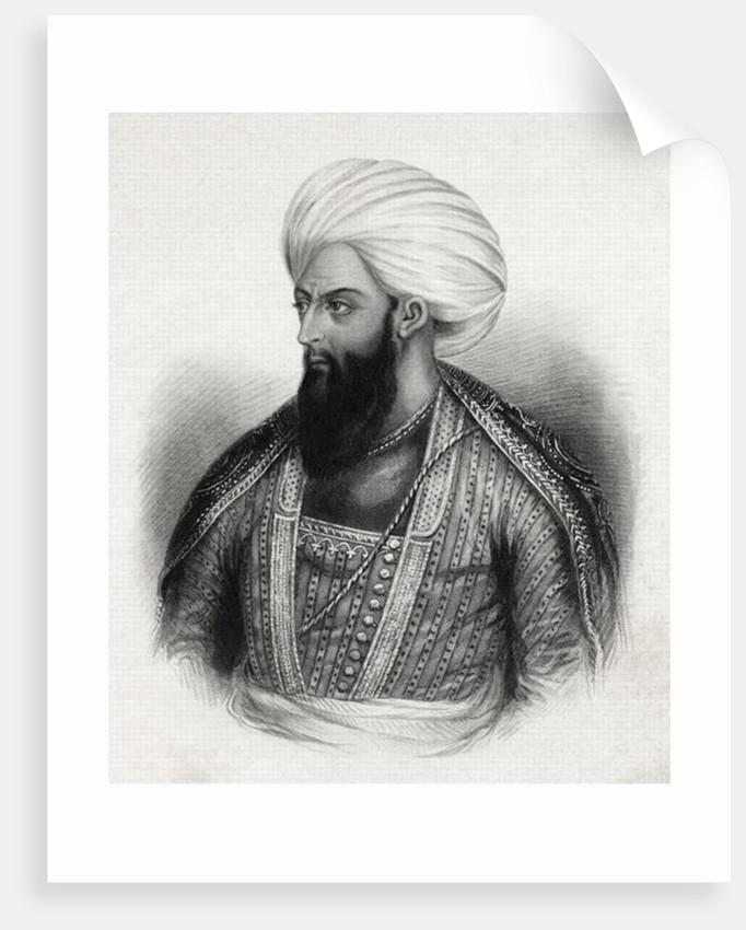 Dost Mohammed Khan Mohammedzai by Indian School