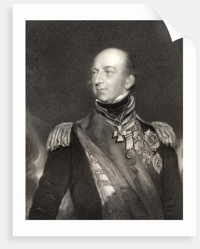 Sir Edward Codrington, British Admiral by Sir Thomas Lawrence
