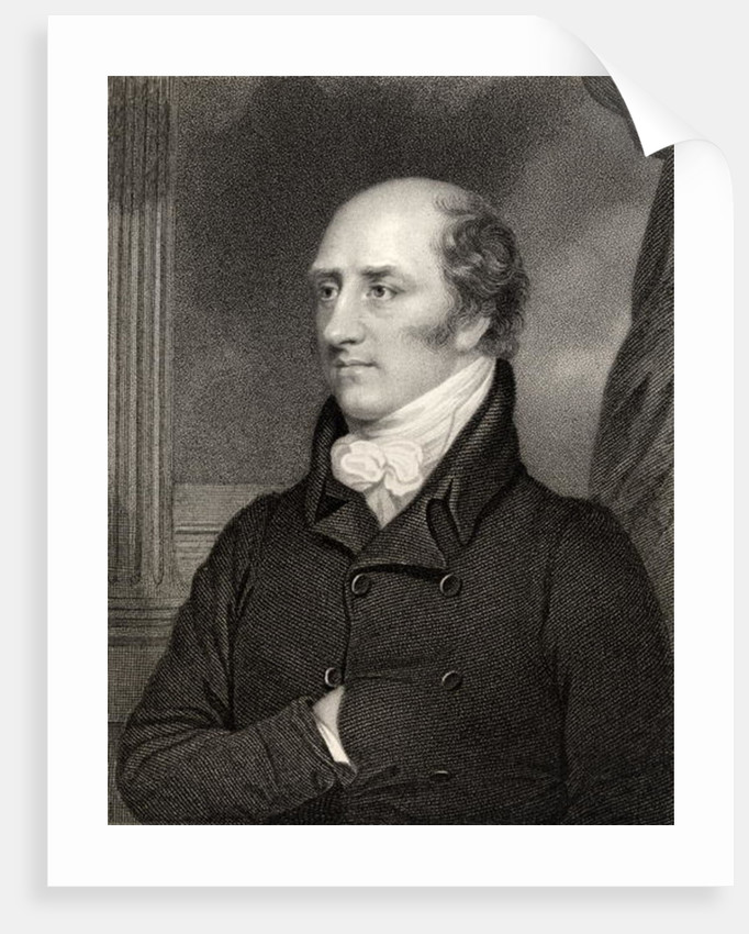 George Canning, Prime Minister by Thomas Stewardson