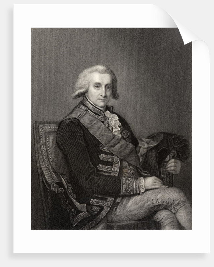 Admiral George Brydges Rodney by English School