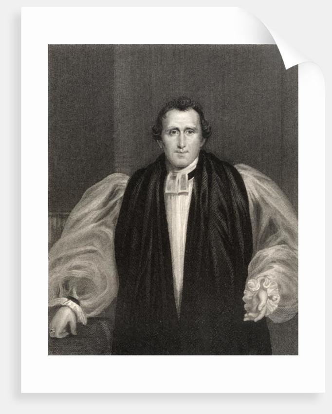 Reverend Daniel Wilson by Francis Howard