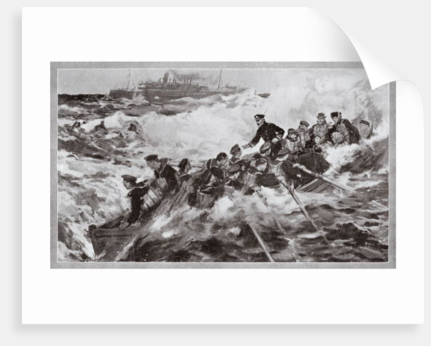The rescue of the Princess Royal and her family by Cyrus Cuneo