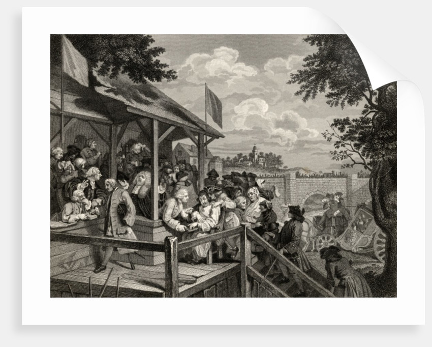 The Polling by William Hogarth