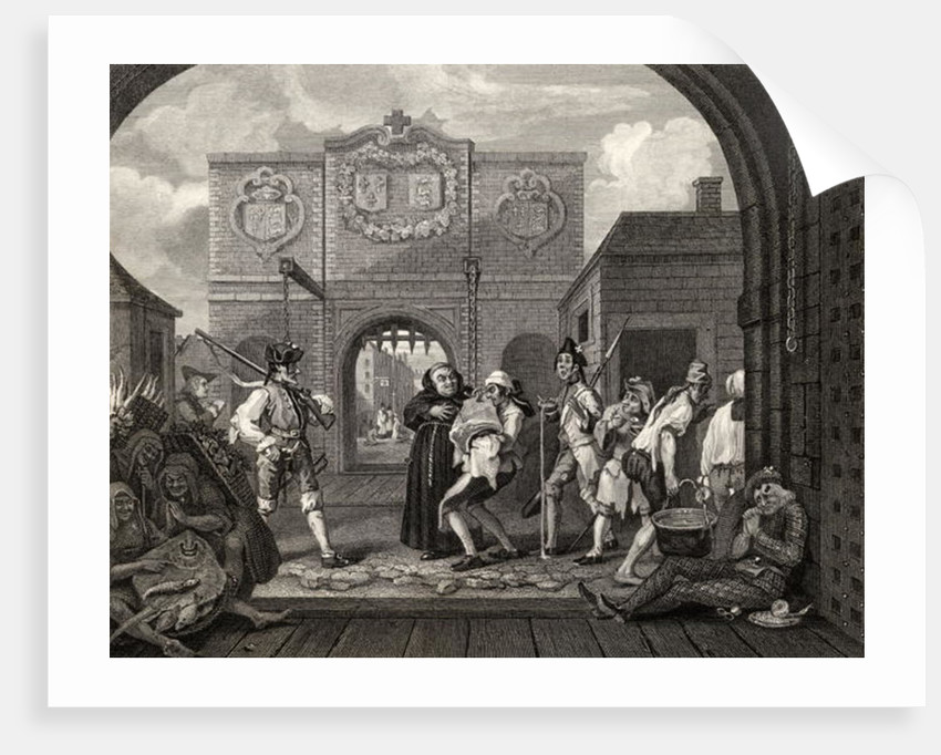 The Gate of Calais, or O The Roast Beef of Old England by William Hogarth
