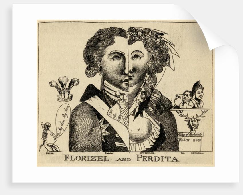 Florizel and Perdita by English School