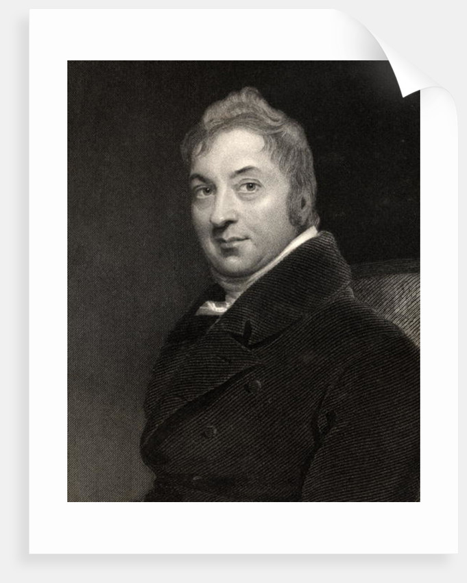 Edward Jenner by Sir Thomas Lawrence
