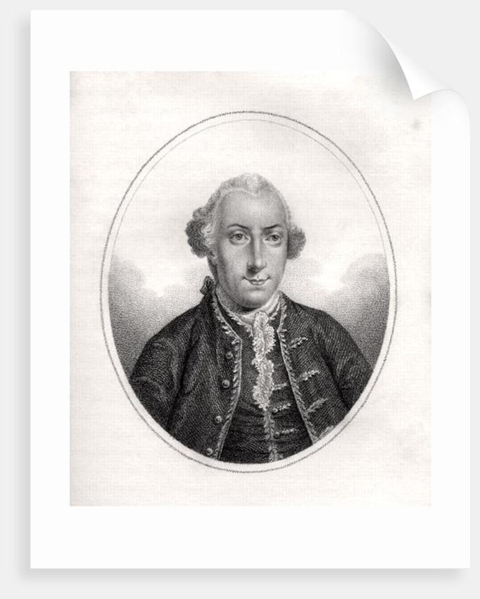Frederick Calvert by English School