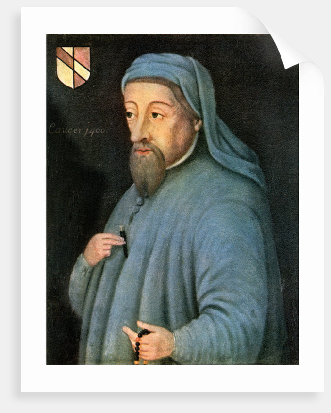 Geoffrey Chaucer by Anonymous