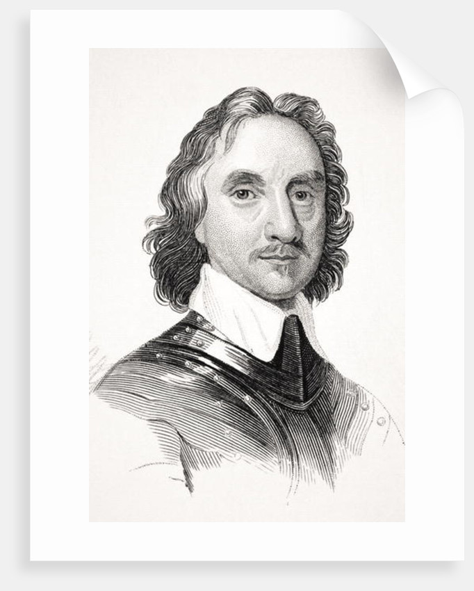 Oliver Cromwell by English School