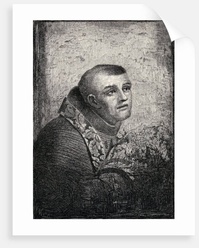 Father Junipero Serra by American School
