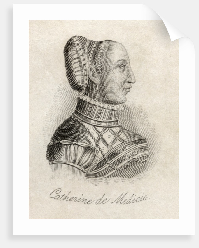 Catherine de Medici by English School