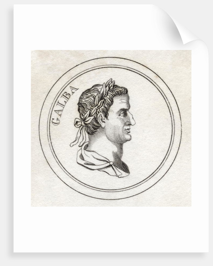 Servius Sulpicius Galba by English School