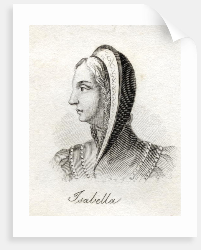 Isabella I, Queen of Castile and Leon by English School