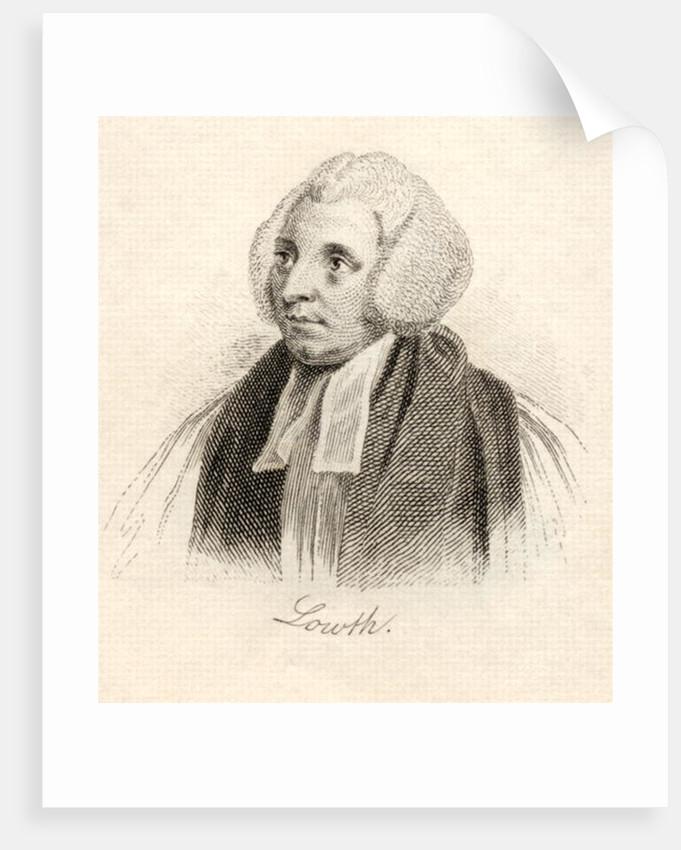 Robert Lowth by English School