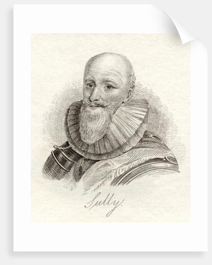 Maximilien de Bethune, duc de Sully by English School