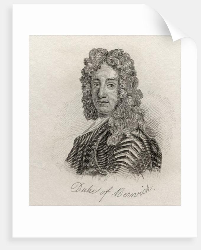 James FitzJames, 1st Duke of Berwick by English School
