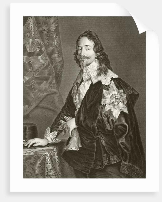 Charles I by English School