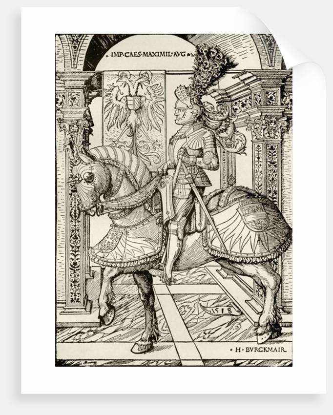 Maximilian I of Habsburg by Hans Burgkmair