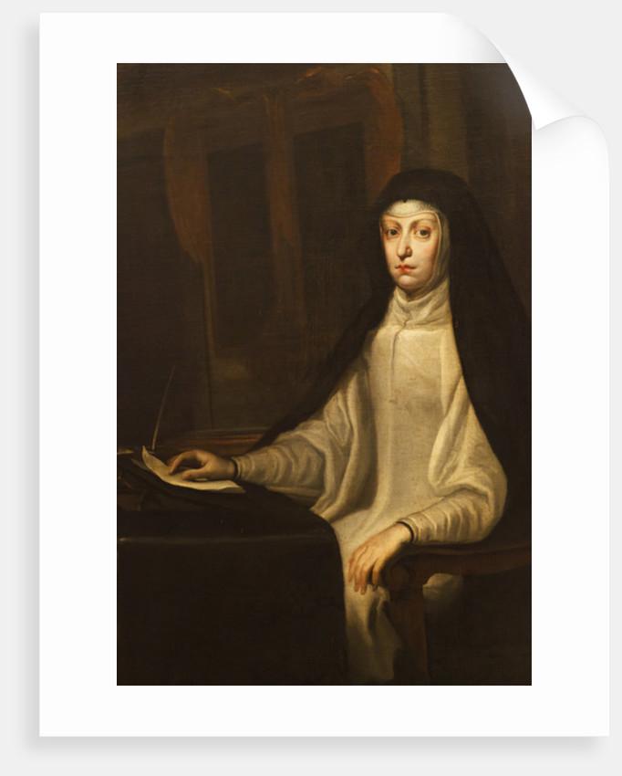 Mariana of Austria by Don Juan Carreno de Miranda