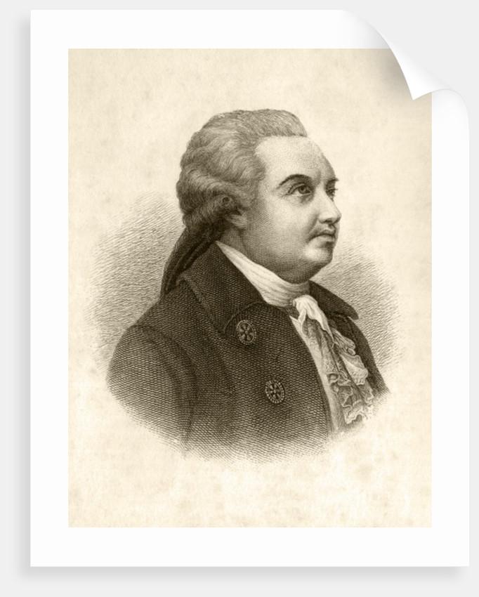 Denis Ivanovich Fonvizin by English School