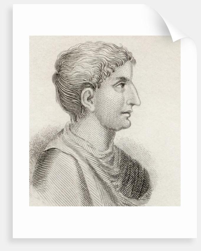 Gaius Sallustius Crispus by English School