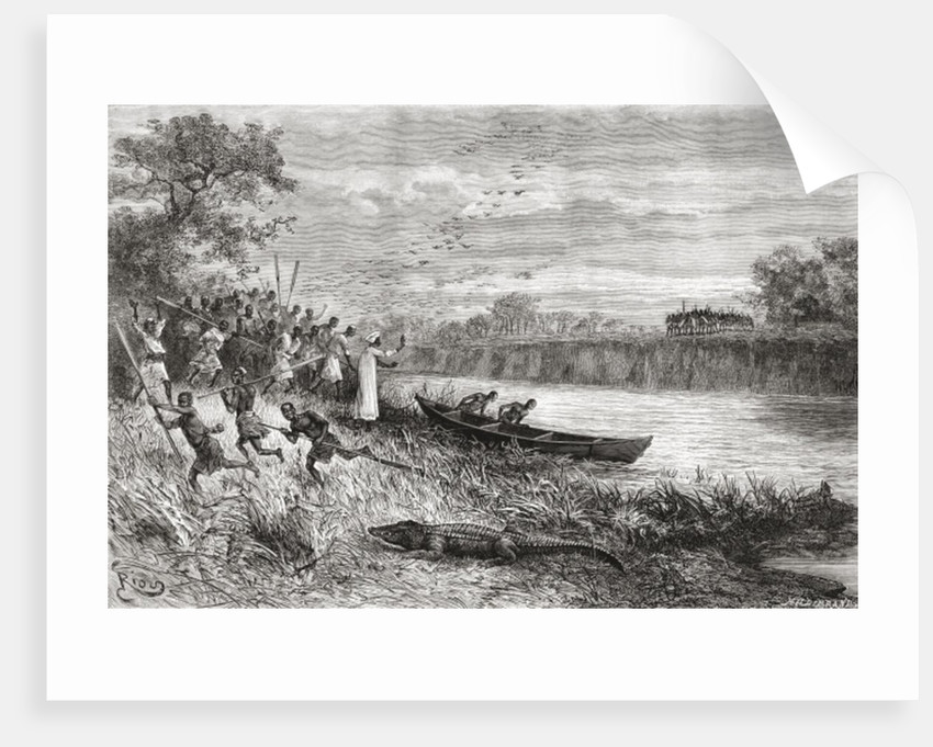 The Ruaha River, Tanzania by Spanish School