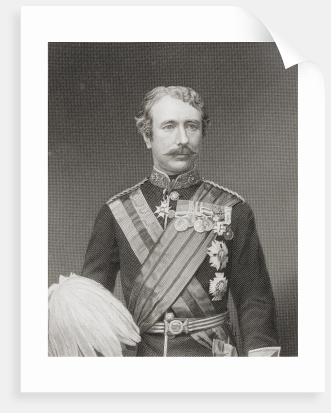 Field Marshal Garnet Joseph Wolseley, 1st Viscount Wolseley by English School