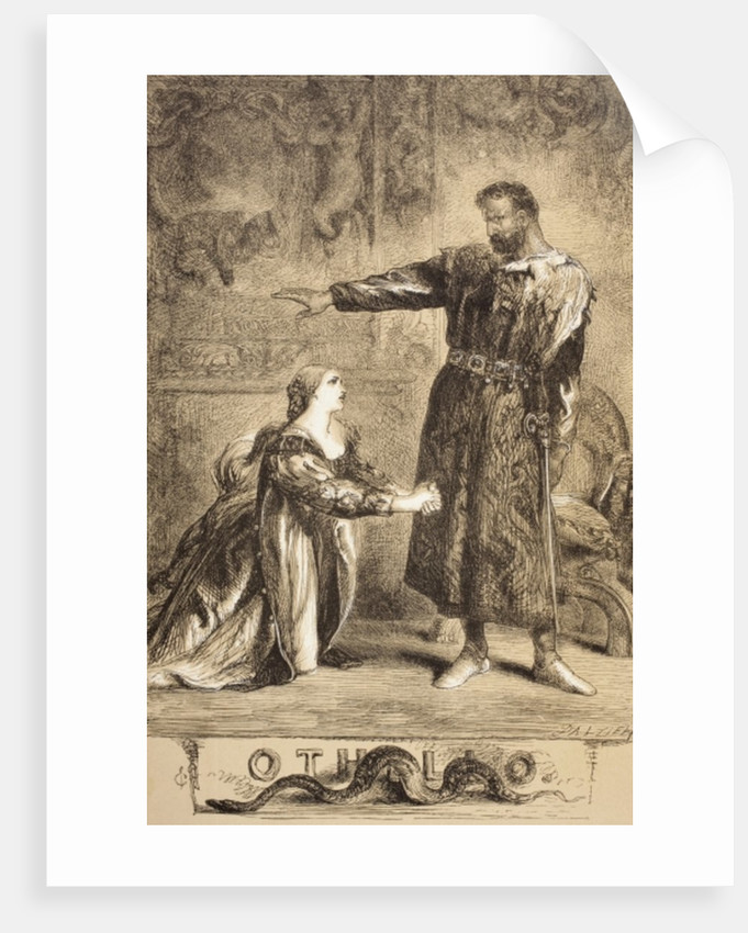 Othello by Sir John Gilbert