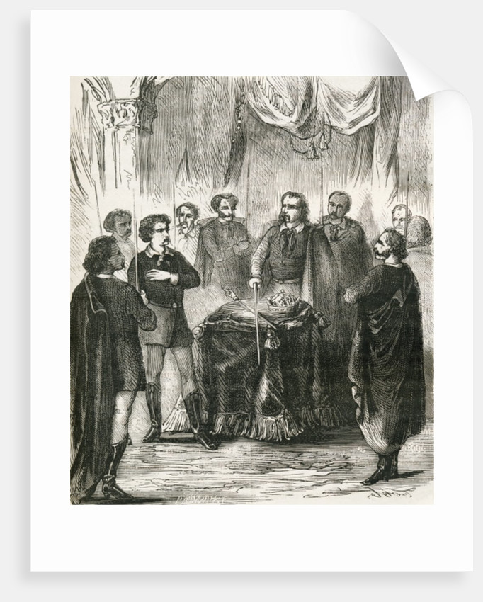 Initiation of an Illuminatus by French School