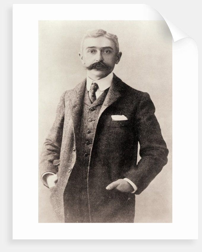 Pierre Frédy, Baron de Coubertin by Anonymous