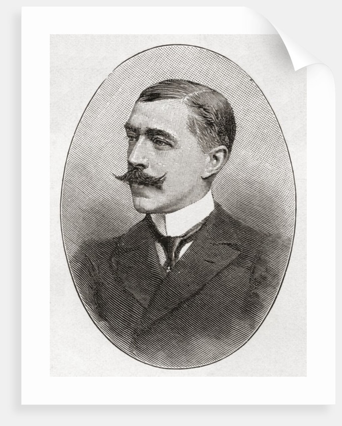 Captain Harry Willes Darell de Windt, seen here aged 35 by Anonymous