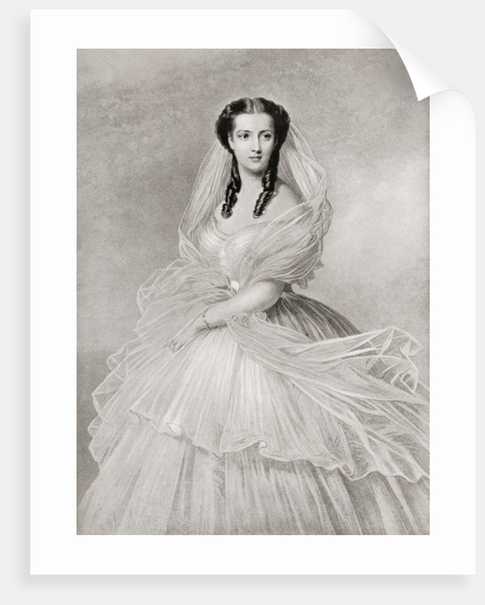 Alexandra of Denmark, at the time of her marriage by Anonymous