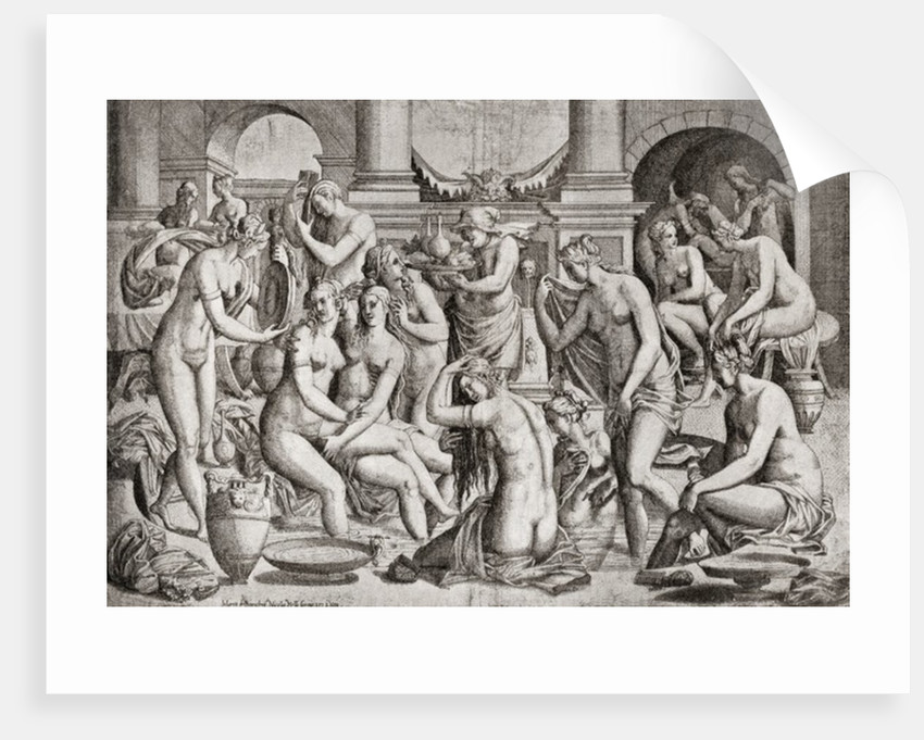 Das Frauenbad, or the Women's Bath by Anonymous