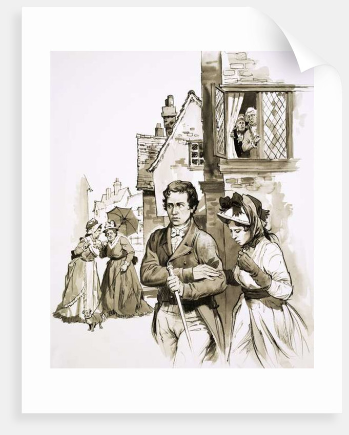 Charles Lamb and his sister were driven from one lodging to another by local gossip by English School