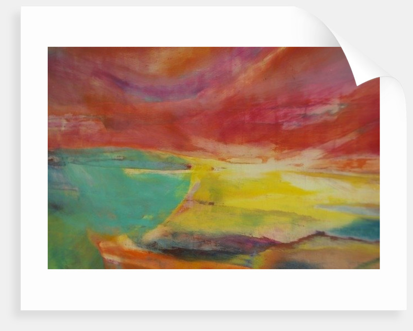 Between Land and Sea, Landscape by Lou Gibbs