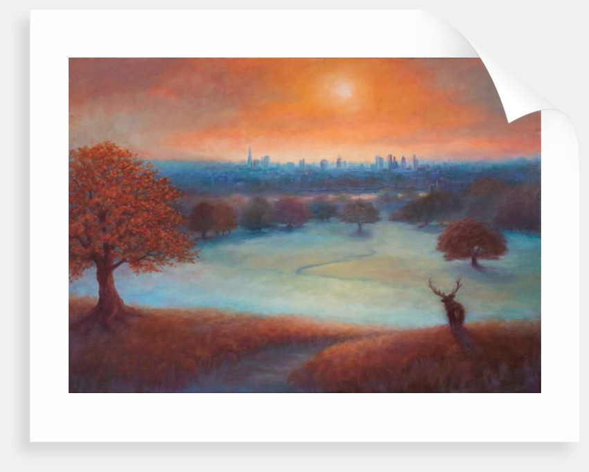 City View London From Richmond Park 2017 Posters Prints By Lee Campbell