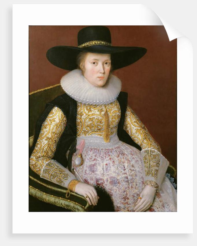 Unknown Lady, 1623 by Robert Peake