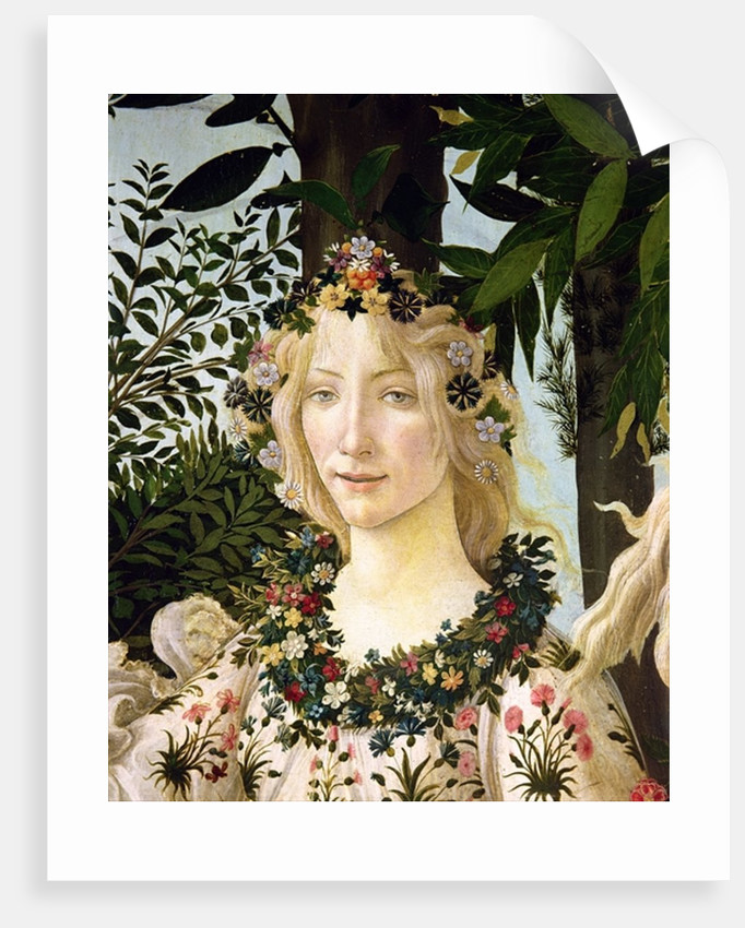Flora by Sandro Botticelli