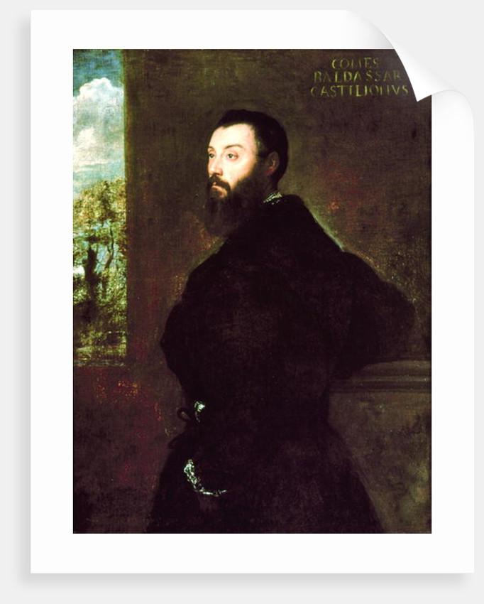 Portrait of Baldassare Castiglione 1523 by Titian