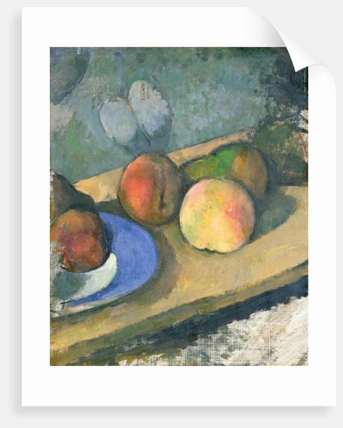 The Blue Plate, 1879-82 by Paul Cezanne