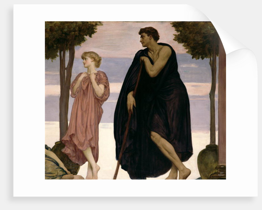 Detail from 'The Dance', c.1881-83 by Frederic Leighton