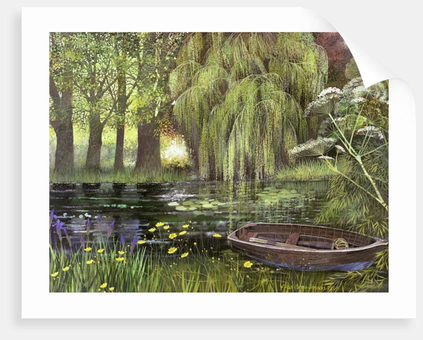 George's Boat, 2000 by Lisa Graa Jensen