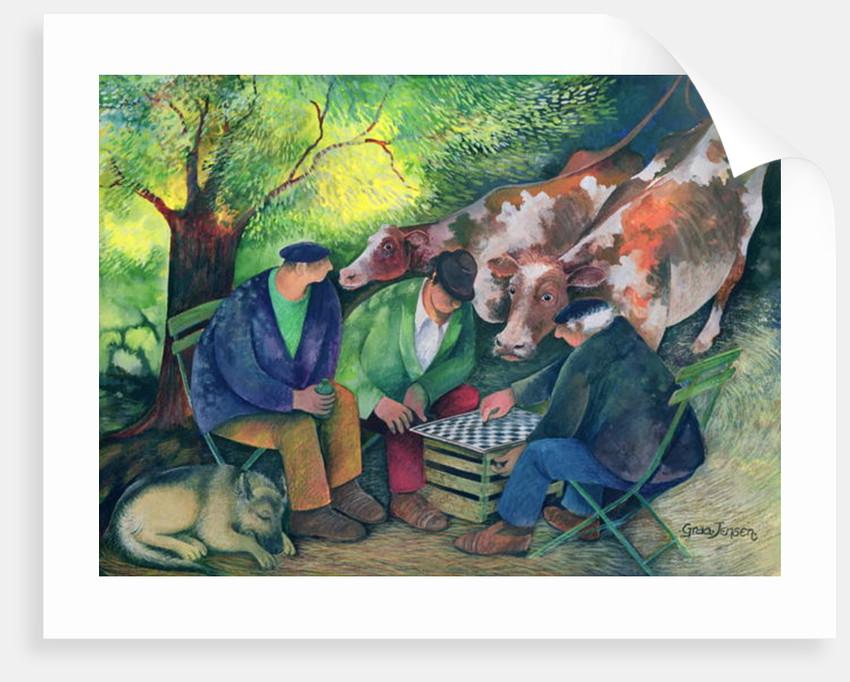 Cow Dealers by Lisa Graa Jensen