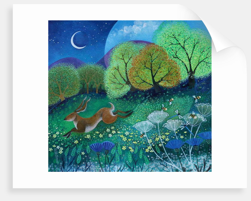 Leapy Hare, 2019 by Lisa Graa Jensen