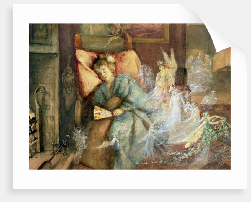 Dreaming by John Anster Fitzgerald