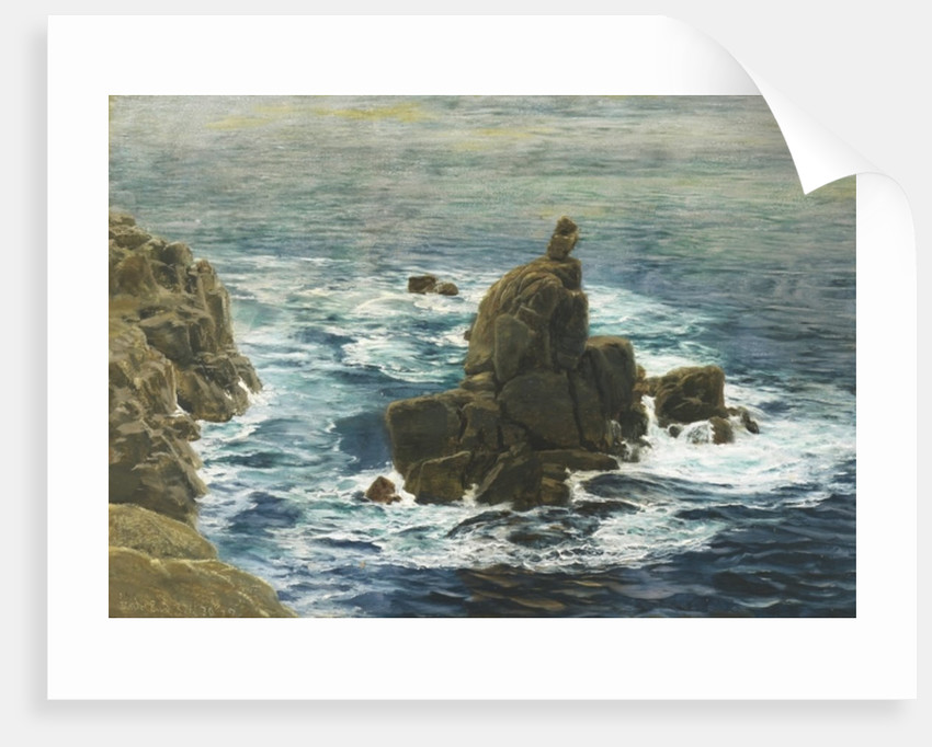 Land's End, 1872 by John Brett