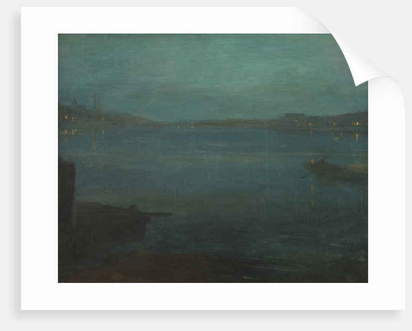 Nocturne from Greaves Boat Yard by Walter Greaves