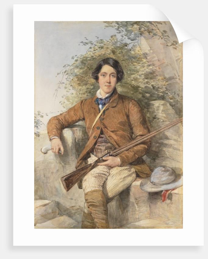 Portrait of Heneage Finch, 6th Earl of Aylesford by Octavius Oakley