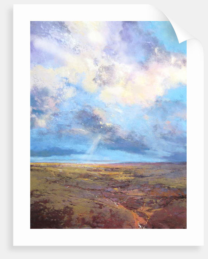 Moorland Sky, 2016 by Martin Decent
