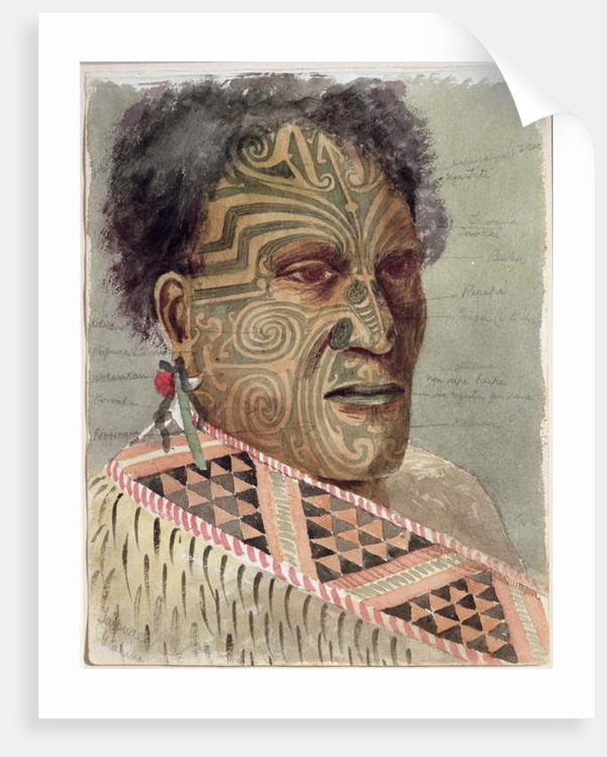 Tapuae, c.1900 by Thomas Ryan